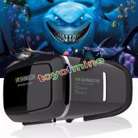 2nd G Lunettes casque réalité virtuelle 3D VR BOX pour iphone Samsung cell phone