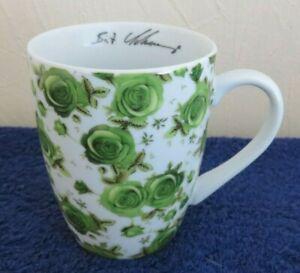 ADLER Rosentasse grün - Sammeltasse Birgit Schrowange - Kaffeebecher - NEU