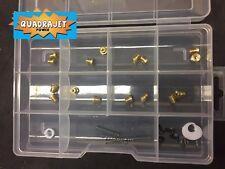 Rochester Quadrajet tuning kit 8 sets jets, power piston springs, retainer, more