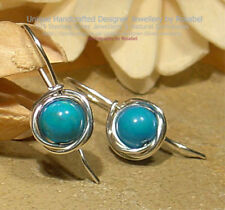 Turquoise Beauty Natural Fine Earrings