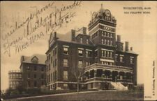 Worcester MA Odd Fellows TUCK c1910 Postcard