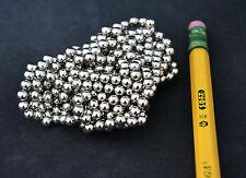 "100 STRONG MAGNETS  spheres balls 4mm (5/32"") Neodymium - US SELLER"