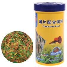 Ornamental Fish Food Goldfish Guppies Small Medium Tropical Fishes Flakes Feed