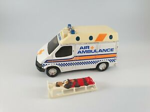 Vintage 1989 Matchbox  Superkings Air Ambulance Ford Transit With Stretcher