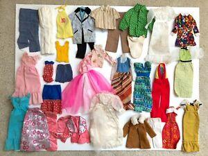 BARBIE CLOTHING FASHION MOD 1970s SUPERSTAR ERA LOT KEN FRANCIE SKIPPER REPAIRS