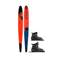 2019 Radar Graphite Vapor Ski w/Dbl Vector Boa Bindings