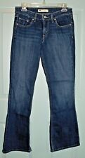 WOMENS BLUE JEANS LEVIS 518 SUPERLOW SIZE 7M W30/L31