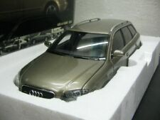 WOW EXTREMELY RARE Audi A4 Avant B7 3.2L V6 2005 Gold 1:18 Minichamps-RS2/RS4/Q7