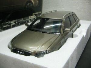 WOW EXTREMELY RARE Audi A4 Avant B7 3.2L V6 2005 Gold 1:18 Minichamps-RS2/RS4/Q7