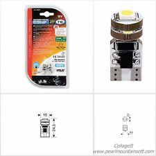 COPPIA LAMPADE HYPER LED POWER 12 QUADRIFOCUS 12V T10 CON RESISTENZA PILOT LAMPA
