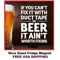 #479 Funny Beer Funny Refrigerator Magnet LARGE