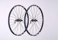 """Coppia Ruote Bicicletta MTB SHIMANO WH-MT15 Disc 26"""" Center Lock Black"""