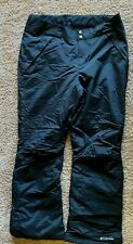 Columbia Snow Pants Black Insulated Pants Size Womens XL