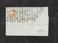 Lombardo Veneto lettera con 5 soldi 1859 da rovigo ad adria
