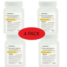 Normal Saline Usp Solution Sodium Chloride 09solution Bottle100ml Pack Of 4