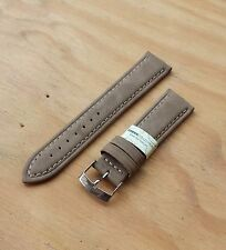 Morellato 'Melograno' Faux suede like leather watch strap 20mm TAN