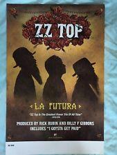 ZZ TOP Promo Poster 11x17 La Futura promotional cheap shipping
