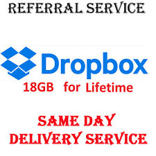 + 16 GB Space Dropbox Upgrade Service Storage Expansion for Lifetime In 1 days