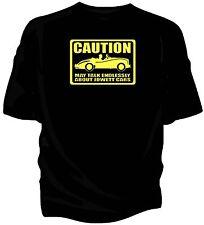 'Caution' classic car t-shirt - 'May Talk Endlessly About.....Jowett Jupiter