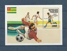Togo bloc  jeux olympiques de Los Angeles     de 1984   num: 179  **