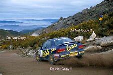 Carlos Sainz Subaru Impreza 555 Portugal Rally 1994 Photograph 1