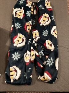 Joe Boxer mens microfleece large  lounging  pants smile faces NWT