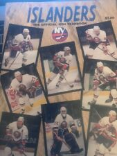 New York Islanders Yearbook 1994
