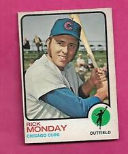 RARE 1973 OPC # 44 CUBS RICK MONDAY EX-MT CARD (INV# C3404)
