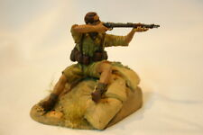 75 mm  RESIN  D.A.K. PANZER PIONIER 1942 ALL NEW FROM B&M MINIATURES painted