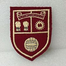 More details for vintage altrincham district football association cloth badge patch 1950's