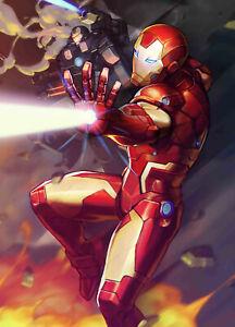 Tony Stark Iron Man #12 Nexon Marvel Battle Lines Variant 6/19/19 NM