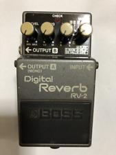 BOSS RV-2 Reverb Guitar Effect Pedal  MIJ  FREE SHIPPING