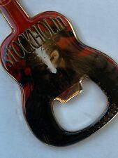 USA SELLER STOCKHOLM SWEDEN Hard Rock Cafe GUITAR MAGNET Bottle Opener VIKING