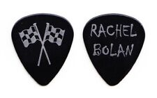 Skid Row Rachel Bolan Racing Flags Black Guitar Pick - 2000 Tour