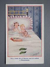 R&L Postcard: Comic, Ludgate, Honeymoon, Box of Chocolates