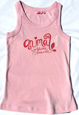ANIMAL BATMAN WIDE STRAP VEST GIRL'S LARGE PINK - SALE - NEW