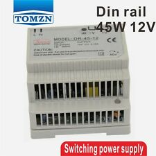 45W 12V Din Rail Single Output Switching power supply