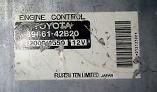 Toyota RAV4 89661-42B20 Ecu Ecm Oem Jdm used
