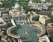Vatican City - ST PETER'S BASILICA & Plaza - Flexible Fridge Magnet