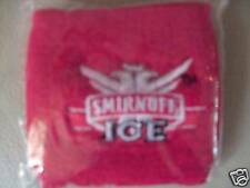 Nuevo Dos Smirnoff Ice De La Muñeca, sudor Bandas Rojo