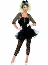 80 Años 80 Pop Wild Child música Fancy Dress Costume Madonna Xl 20-22 Smiffys Nuevo