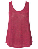 T by Bettina Liano Ladies Godness Sleeveless Singlet Top sizes 6 10 Colour Berry