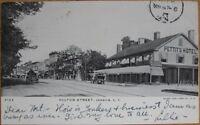 1905 PC-Fulton St/Pettit's Hotel-Jamaica-Long Island NY