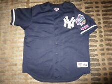 New York Yankees 1998 World Series Champs MLB Majestic Jersey XL