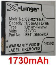 Batterie 1730mAh type EB41 SNN5905 SNN5905A SNN5905B Pour Motorola Photon Q LTE