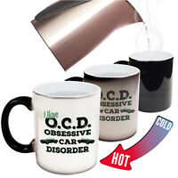 Funny Mugs I Have Obsessive Car Disorder Gift Christmas MAGIC NOVELTY MUG