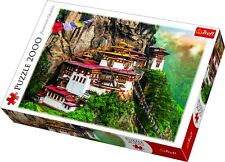 Trefl 2000 Piece Adult Large Image Tigers Nest Bhutan Mountain Jigsaw Puzzle NEW
