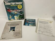 Microsoft Combat Flight Simulator WWII Europe PC Big Box Inc. 2x Sidewinder Disc