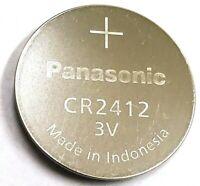 1 PANASONIC CR2412 Battery EXP 2027 for Seiko 8F32A, 8F33A, 8F35A, 8F56A, 2412