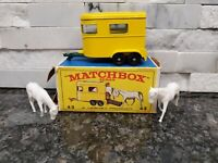 Lesney Matchbox Series #43 Pony Trailer with original Type F2 Box L47